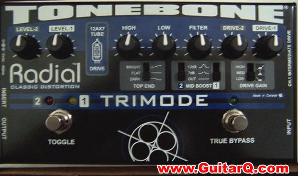 tonebone trimode 电子管 双通道失真效果器