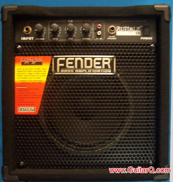 fender rumble 15b 贝司音箱