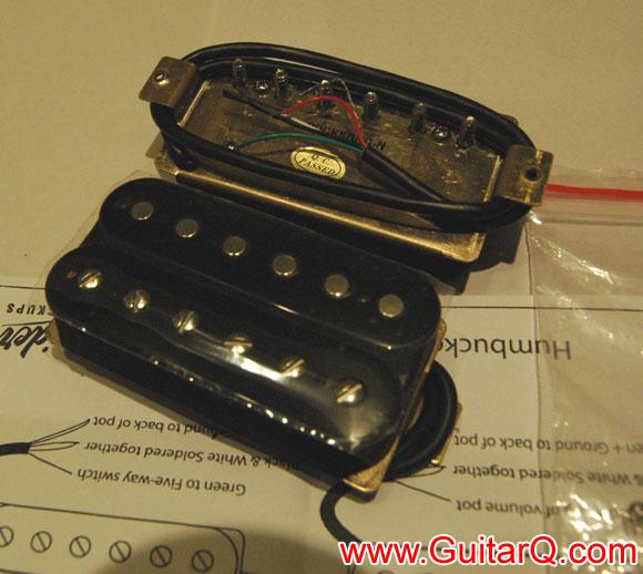 电吉他2单2音量1音色接线图