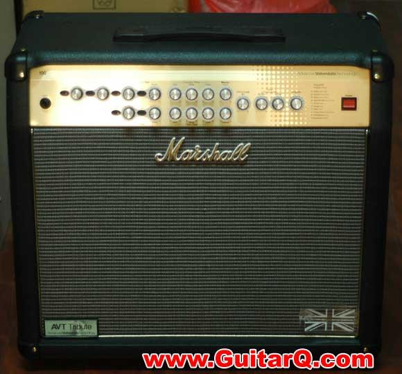 avt100xt 电吉他音箱   型号:marshall avt100xt电子管功放吉他音箱